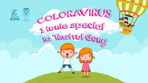 Coloravirus la Teatrul Gong!