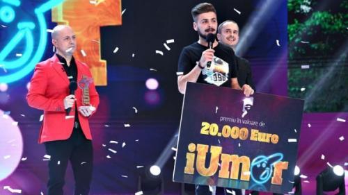 VIDEO CASTIGATOR iUmor 2020. Eduard Vacariu este marele câștigător al sezonului 8 iUmor!