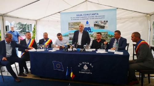 Investiţie de 37 milioane de lei în infrastructura de apa din Crevedia