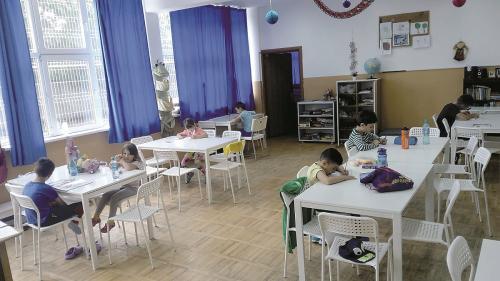 Școală de vară pentru copiii de la țară