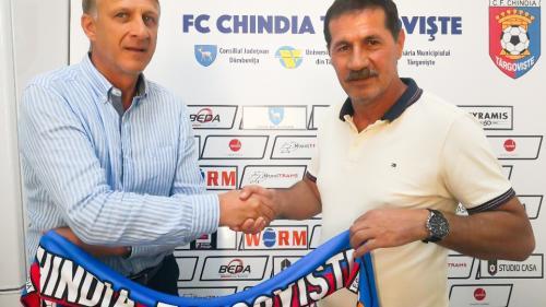 Emil Săndoi este noul antrenor al echipei Chindia Târgoviște