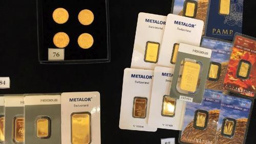 200 kilograme de aur și argint, în licitație