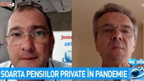 Video. Jurnalul de economie. Soarta pensiilor private în pandemie
