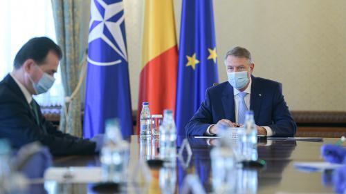 Klaus Iohannis și Ludovic Orban participă la recepția organizată de Ambasada SUA la București