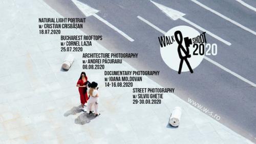 Atelierele Walk & Shoot 2020 –  artă fotografică și explorare urbană