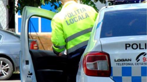 Bărbatul care a lovit un polițist a fost arestat