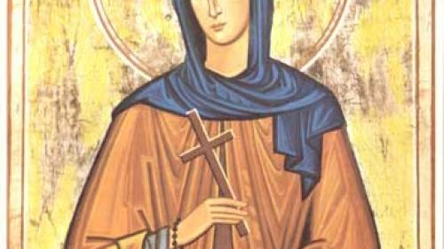 Sfânta Cuvioasă Teodora de la Sihla - minunile care s-au întâmplat cu ea, în timpul vieții