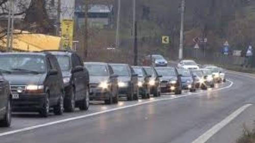 Trafic îngreunat pe DN1 Ploiești-Brașov: Mașinile merg în coloană între Nistorești și Comarnic