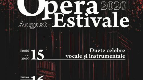 """Opera Națională București prezintă în weekend """"Duete celebre vocale și instrumentale"""" și """"Caleidoscop muzical"""", concerte în aer liber pe esplanadă"""
