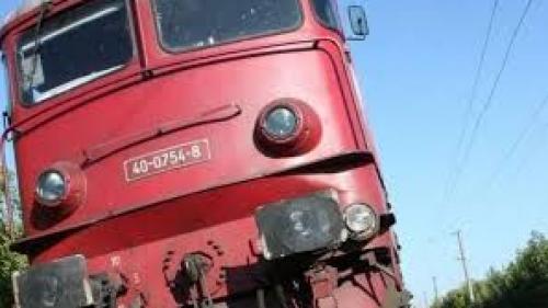 Trafic feroviar BLOCAT în Teleorman: Locomotiva unui marfar s-a defectat
