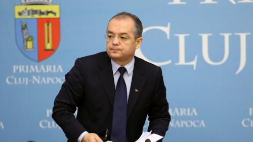 Emil Boc și-a depus candidatura pentru un nou mandat de primar