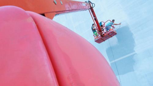 SISAF 2020: artă în cartier şi lucrări pe asfalt