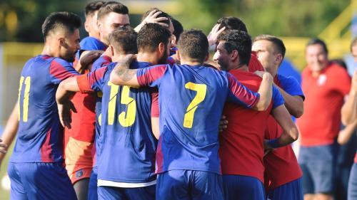 Steaua şi-a prezentat echipamentul pe noul stadion din Ghencea