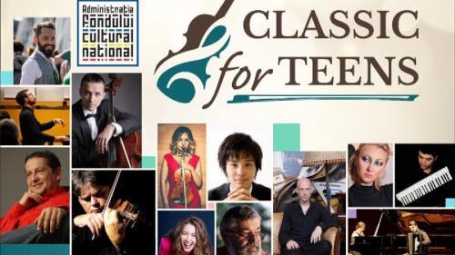 CLASSIC FOR TEENS – începe în prima zi de şcoală