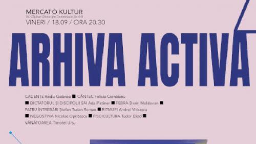 """""""Arhiva Activă"""" UNATC - prima proiecție la București"""