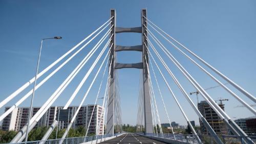 Podul Ciurel a fost finalizat. Firea: Proiectul, început acum 14 ani, a stat 10 ani în tribunale, o pierdere pentru bucureșteni care se traduce financiar în 10 milioane de euro plătiți în plus