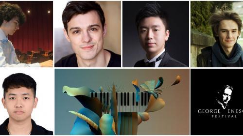 13 tineri pianiști din 8 țări s-au calificat în Etapa a II-a a Secțiunii de Pian de la Concursul Enescu 2020