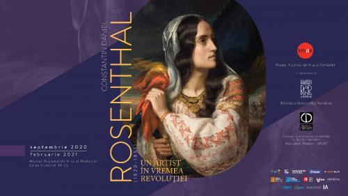 """""""Constantin Daniel Rosenthal. Un artist în vremea revoluției"""".  O nouă expoziție la MNAR"""