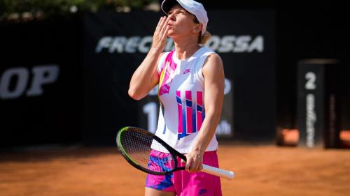 Simona Halep s-a calificat în finala de la Roma