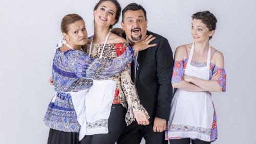 Maria Buză şi Marius Rizea, sursa de comedie în serialul Adela de la Antena 1