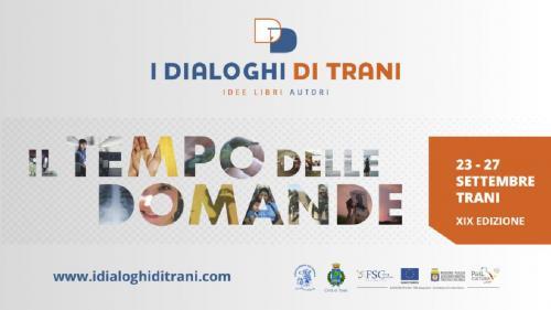 "România la Festivalul Literar ""I DIALOGHI DI TRANI"" 2020"