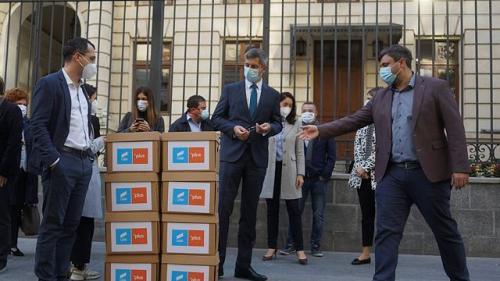 USR PLUS a depus 260.000 de semnături la Biroul Electoral Central pentru alegerile parlamentare