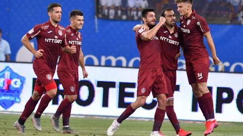 Dan Petrescu i-a adormit și pe bulgari! CFR Cluj învinge ȚSKA Sofia cu 2-0