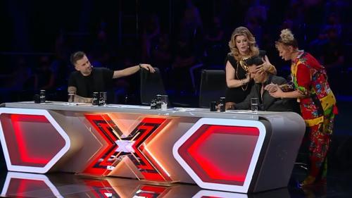 Ștefan Bănică, deochiat de o concurentă!  X Factor se vede în porție dublă, în fiecare joi și vineri, la Antena 1