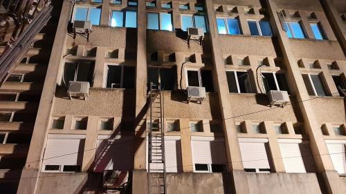 Instalația electrică a spitalului din Piatra Neamț, veche de 50 de ani