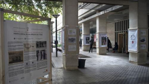 Expoziţie despre salvarea unui spital istoric