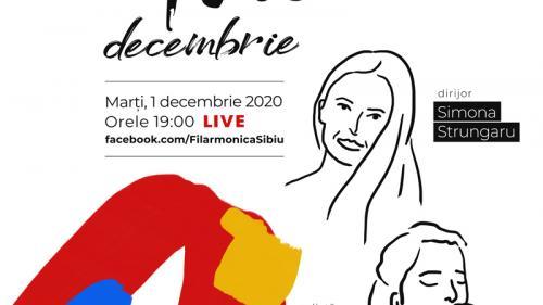 Folclor simfonic la Filarmonica Sibiu de Ziua Națională