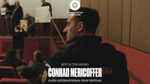 Conrad Mericoffer, cel mai bun actor la festivalurile de la Torino și Gijón, pentru rolul principal din Câmp de maci/Poppy Field
