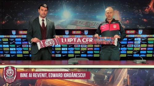 CFR Cluj a anunțat semnarea contractului cu Edi Iordănescu