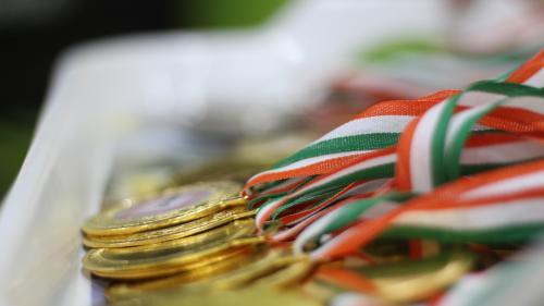 Juniorul Gabriel Burtănete, medalie de aur la sărituri în cadrul Campionatului European de Gimnastică