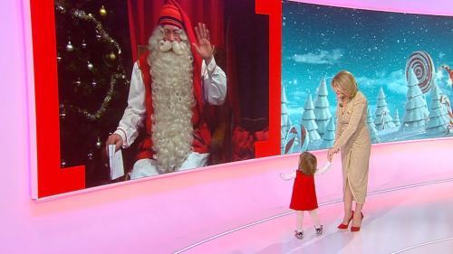 Alessandra Stoicescu, interviu în exclusivitate cu Moş Crăciun  în seara de Ajun, la Observator 19.00