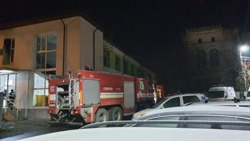 Alertă. Incendiu la Secția de Psihiatrie a Spitalului Municipal Roman