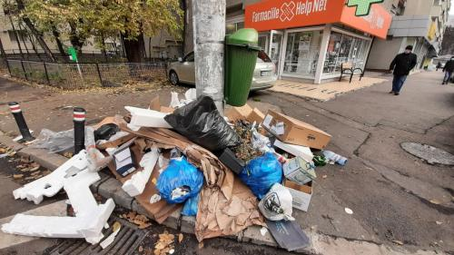 Curățenie generală în Sectorul 4 al Capitalei, în a doua zi a anului 2021