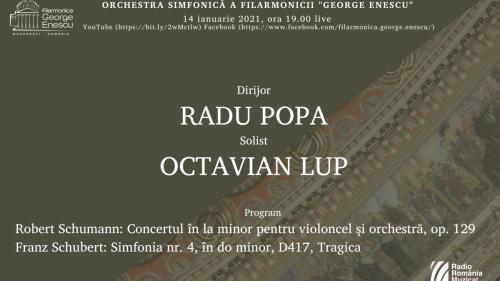"Capodopere romantice live cu orchestra Filarmonicii ""George Enescu"""