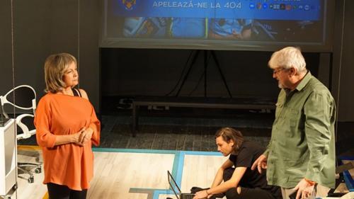 Eveniment la Naționalul din Iași: Sindromul Quijote - spectacol dedicat Zilei Culturii Naționale, pe textul câștigător al proiectului Lecturi³