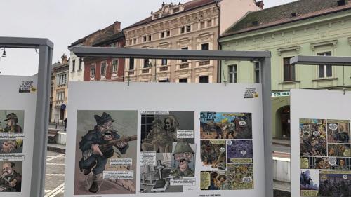 """Sibiu – prima destinație din itinerariul expoziției """"Eroii care au făcut Istorie"""""""