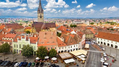 Sibiu, destinaţie europeană de top