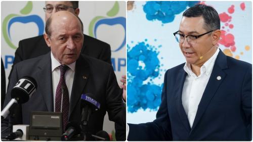 Ponta și Băsescu, consolări de milioane de euro