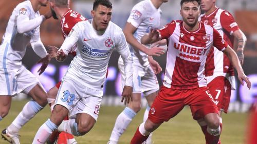 Dinamo - FCSB 0-1. Florin Tănase a fost decisiv