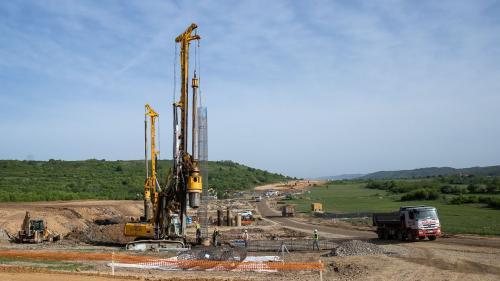 Construcția noului pod peste râul Someș se ridică la 168,5 milioane de lei