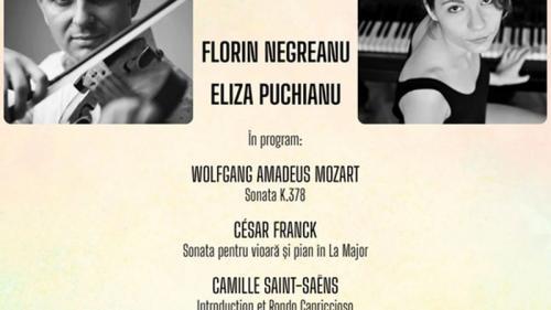 Recital cameral Florin Negreanu & Eliza Puchianu