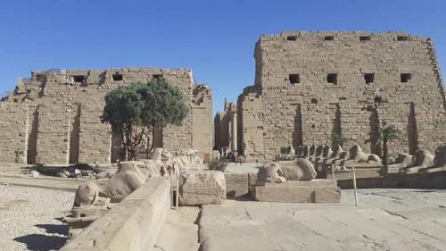 Templul lui Amon-Ra, construit timp de 2.000 de ani
