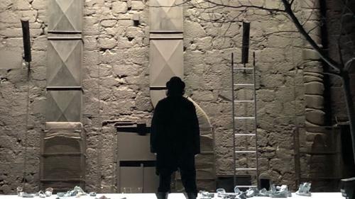 Așteptându-l pe Godot în regia lui Gábor Tompa la Teatrul Național São João din Porto