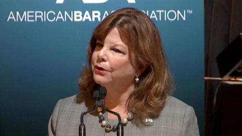 PreședinteleAmerican Bar Association: ABA este preocupată cu privire la situații ce denotă grave încălcări ale drepturilor avocaților în România