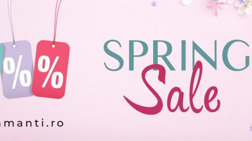 (P) A început Spring Sale pe DiAmanti.ro