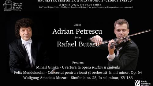 Mendelssohn și Mozart, în programul stagiunii online a FGE